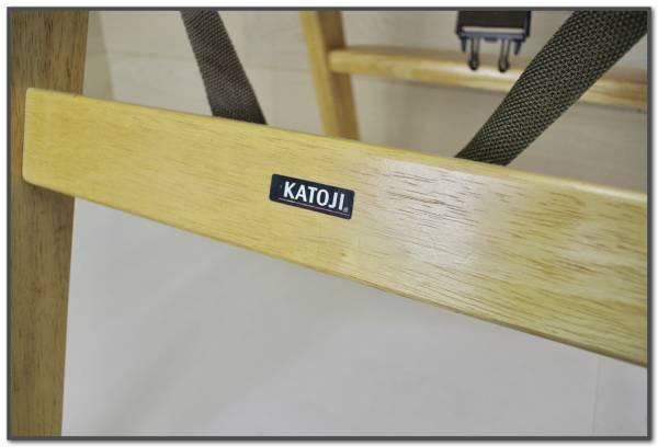 KATOJI カトージ ベビーチェア ハイチェアー 椅子 折りたたみ テーブル付 天然木製 ベビー用品_画像3