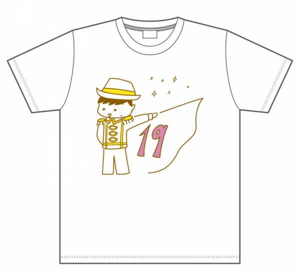 ☆ HKT48 下野由貴 4/19発売 2017 4月 生誕記念Tシャツ 生写真付 ライブグッズの画像