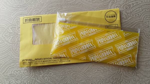FTISLAND ★ Primadonna FC継続特典 2016 歯ブラシセット