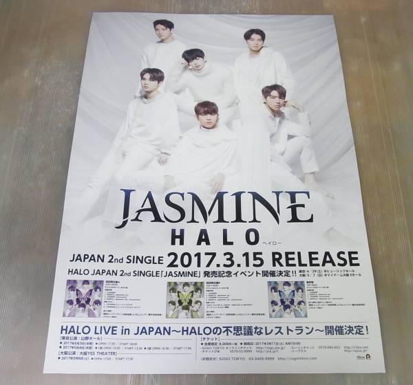 未使用★JASMINE HALO ヘイロー★告知ポスター