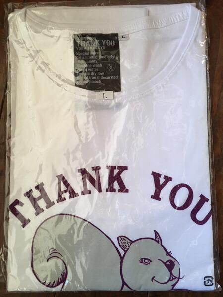 吉井和哉 the yellow monkey イエモン リスボンTシャツ Lサイズ ライブグッズの画像