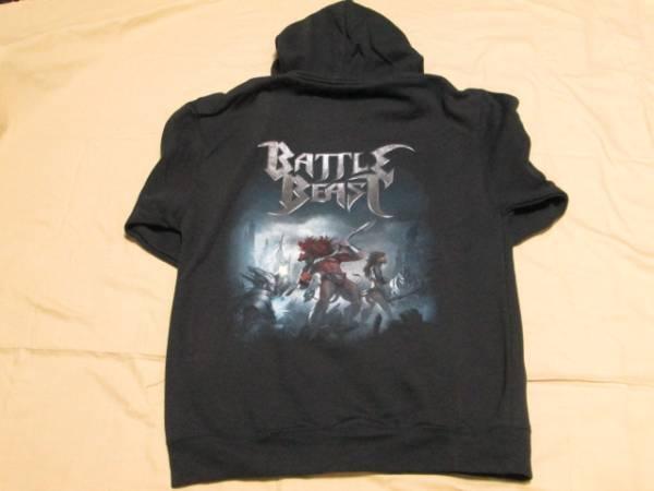 BATTLE BEAST/バトル・ビースト ジップ・アップ・パーカー Mサイズ 新品