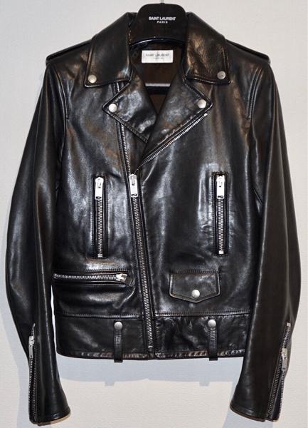 SAINT LAURENT PARIS Calf L01 Leather Riders Jacket 42 サンローランパリ カーフ レザ