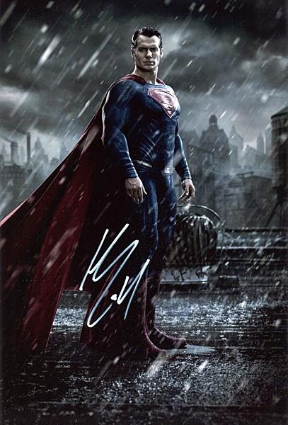 ヘンリー・カヴィル 直筆サインフォト 証明書付 スーパーマン