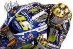バレンティーノ・ロッシ 直筆サインフォト 証明書付 MotoGP