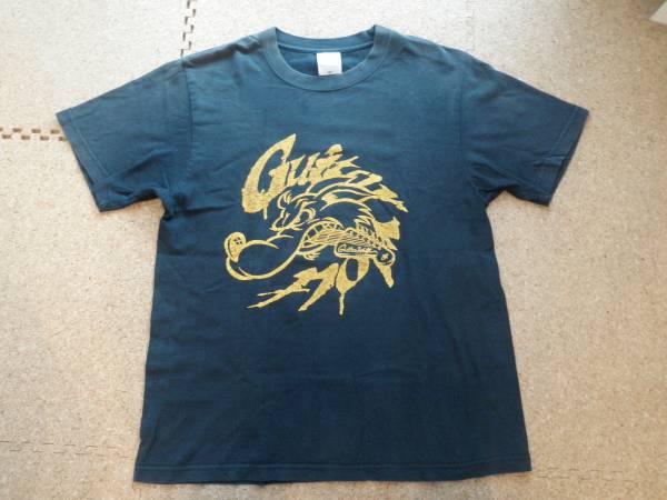 ギターウルフ Tシャツ M ネイビー 紺色 バンド アーティスト ミュージシャン フェス