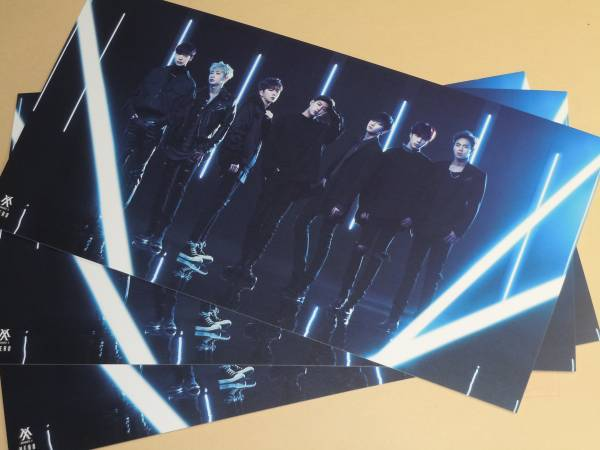 MONSTA X HERO HMV 特典 特大 ポストカード 3枚セット ショヌ ウォノ ミニョク キヒョン ヒョンウォン ジュホン I.M
