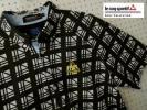 新品12960円★ルコックゴルフ エッフェルチェック ボタンダウンポロシャツ L