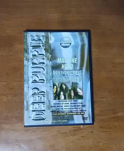 ディープパープル クラシックアルバムズ:マシンヘッド DVD グッズの画像