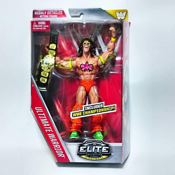 WWE レジェンド アルティメットウォーリーア― フィギュア 人形 プロレス マテル 美品 グッズの画像