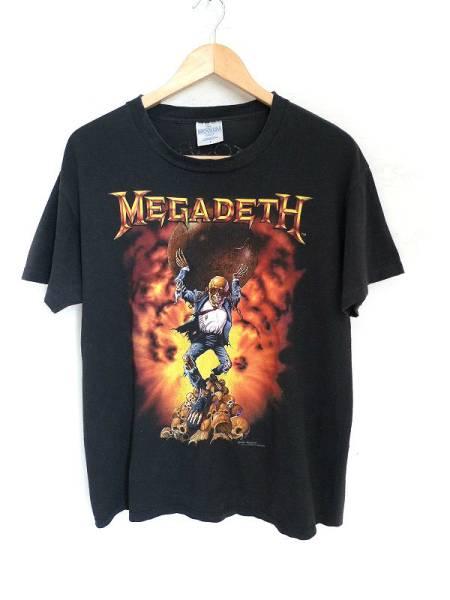 90's MEGADETH メガデス 1991ツアーTシャツ バンドTシャツ メタル BROCKUM