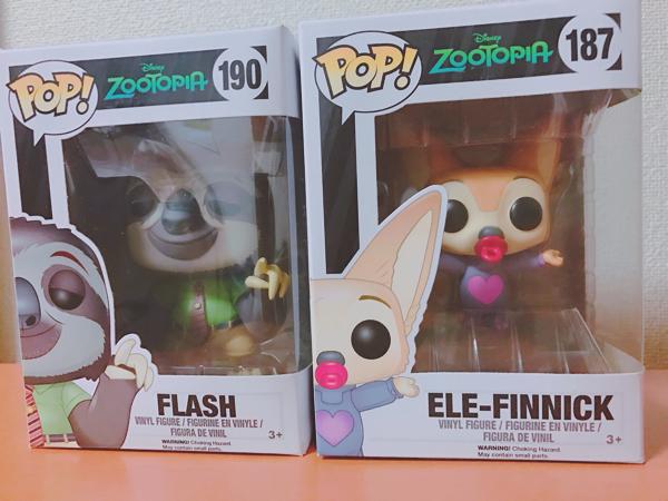 FUNKO POP! ズートピア FLASH EKE-FINNICK ディズニーグッズの画像
