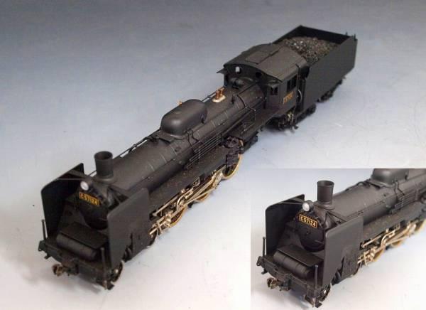 HOゲージ 動力車 メーカー不明 C57124 蒸気機関車 ジャンク品