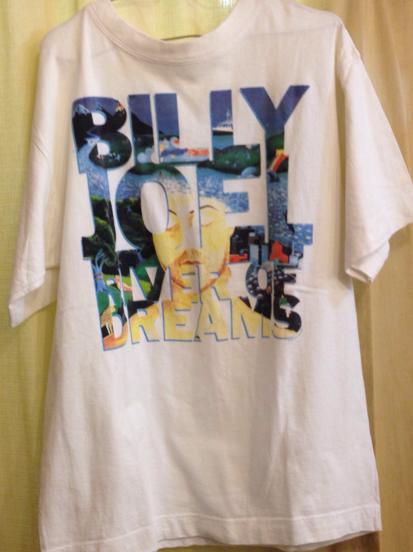 90S ビンテージ BILLY JOEL ビリージョエル ツアー Tシャツ オーストラリア製 / エルトンジョン マドンナ マイケル ジャクソン ピアノマン