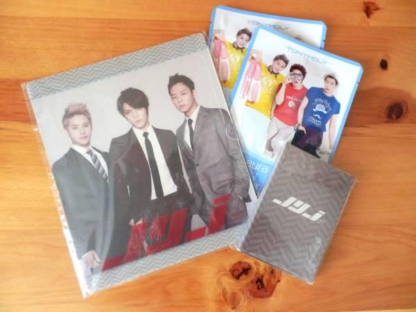 JYJ 公式マウスパッド&マグネットセット+オマケ TONYMOLY TAAマスクシート×2 未使用新品