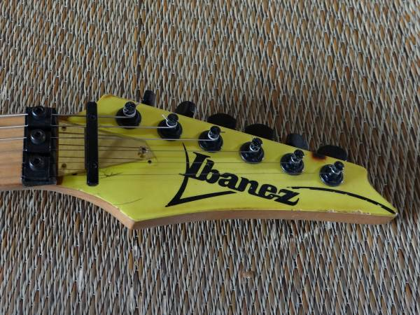 F1 IBANEZ RG550 イエロー ジャンクギター!日本製 MADE IN JAPAN