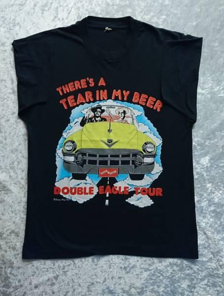 希少 89年製Hank Williams Jr 89 TOUR Tシャツ 80s ヴィンテージ