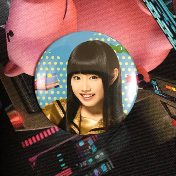 私立恵比寿中学 廣田あいか 缶バッジ アクアシティ ライブグッズの画像