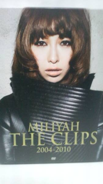 [DVD] 加藤ミリヤ「MILIYAH THE CLIPS 2004-2010(初回限定盤) 」特典付 ライブグッズの画像