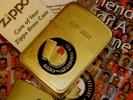 真鍮 1932-2002 SOLID BRASS 1941 REPLICA Zippo 70th Anniversary Friends For A Lifetime Zippo社 創業70周年記念 TIN缶ケース付 未使用