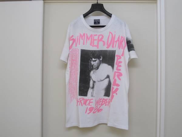 Bruce Weber ブルース ウェーバー SUMMER DIARY Tシャツ /XL 白 ヴィンテージ