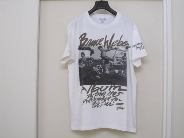 Bruce Weber ブルース ウェーバー ホワイトタイガー Tシャツ /L 白 ヴィンテージ