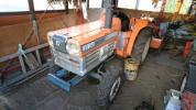 売り切り! クボタ トラクター L2202 程度良! 1700h ロータリー付き!