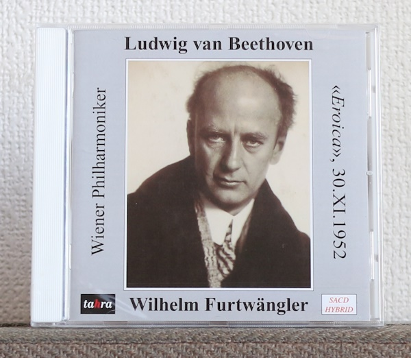 品薄/高音質CD/SACD/フルトヴェングラー/ベートーヴェン/交響曲第3番/英雄/ウィーン・フィル/Furtwangler/Beethoven/Eroica/Tahra/1952_画像1