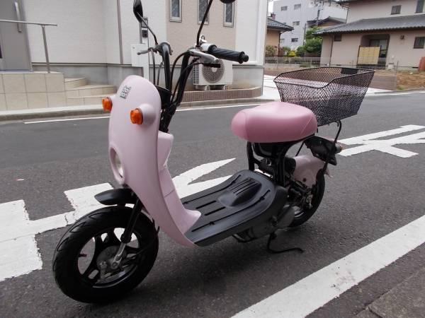 スズキ チョイノリ セル付きモデル 社外マフラー スペア外装あります。 埼玉県から