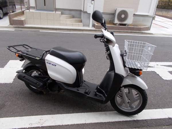 ヤマハ GEAR ギア(UA06J) 4スト フットブレーキ インジェクション 埼玉県から出品です。