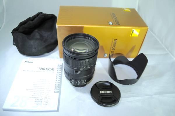 ★極上品★ニコン Nikon AF-S NIKKOR 28-300mm f3.5-5.6G ED VR カメラ 一眼レフ レンズ 手ブレ補正機能付 美品1円スタート!【17-0001】