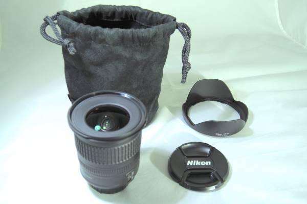 ★極上品★ニコン Nikon AF-S NIKKOR 10-24mm F3.5-4.5G ED DX 広角レンズ カメラ 一眼レフ レンズ 美品1円スタート!【17-0003】