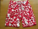OP 海パン パンツ サイズ M~L レッド&ホワイト サーフパンツ 海 プール オーシャンパシフィック