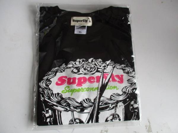 Superfly  Tシャツ SUPER~ 未開封 Jr.L ライブグッズの画像