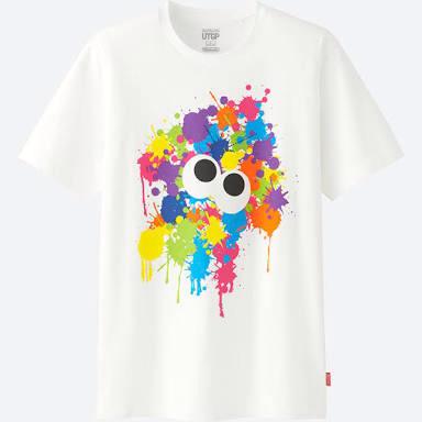 任天堂 ユニクロ スプラトゥーン Tシャツ Lサイズ UTGP グッズの画像