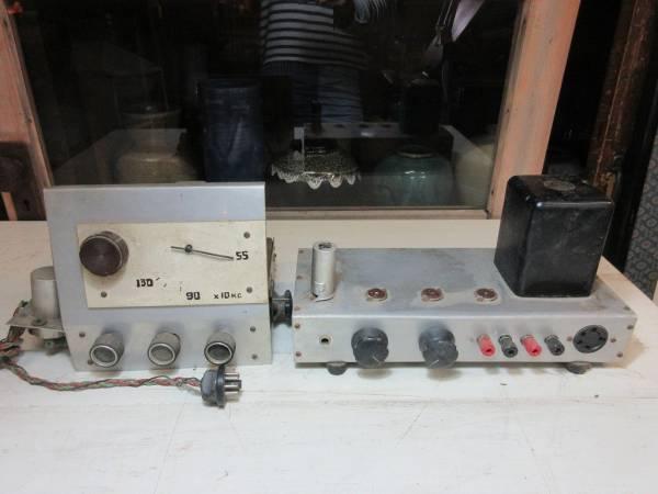 廃業した古い電機屋さんの倉庫~自作のアンプ?無線の部品?山水 ジャンク 部品取り