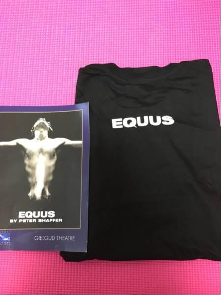 【貴重/美品】ダニエル・ラドクリフ「エクウス」Tシャツ、パンフレット