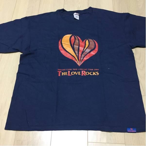 ANVIL ドリカム DREAMS COME TRUE 2006 ツアー 半袖 Tシャツ THE LOVE ROCKS サイズL