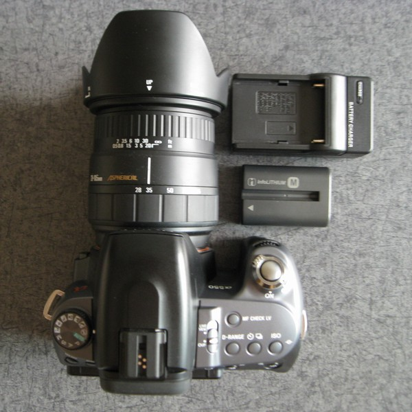 SONY DSLR-A550 SIGMA AF28-105mm F2.8-4 ASPHERICALセット