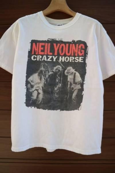 00S NEIL YOUNG CRAZY HORSE バンドTシャツ ビンテージ ロック BOB DYLAN NIRVANA PALM JAM