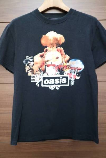 00S OASIS バンドTシャツ ビンテージ ロック BLUR STONE ROSES VERVE