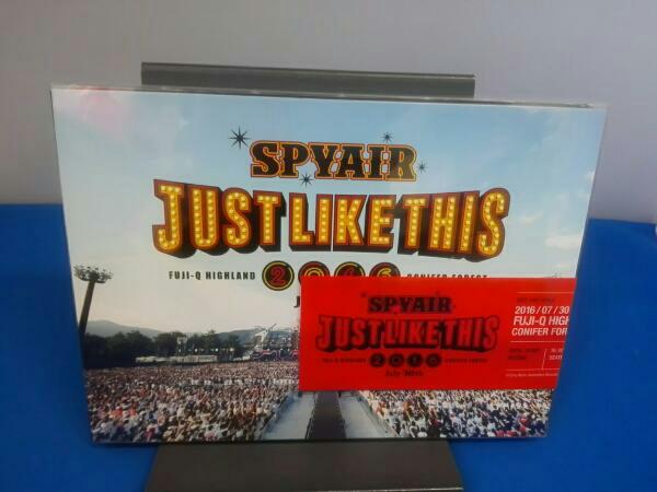 SPYAIR JUST LIKE THIS 2016(初回生産限定版) DVD ライブグッズの画像