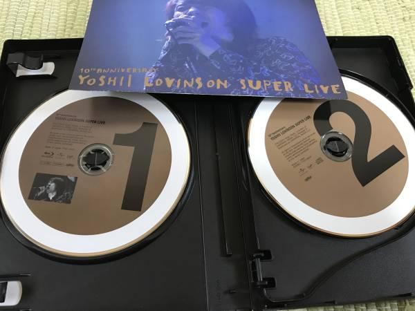 吉井和哉 YOSHII LOVINSON SUPER LIVE 10th Blu-ray_画像2