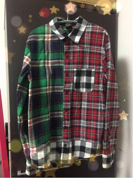 【状態良】LiSA 物販 ツンデレチェックシャツ Mサイズ 武道館 PiNK & BRACK ライブグッズ ライブグッズの画像