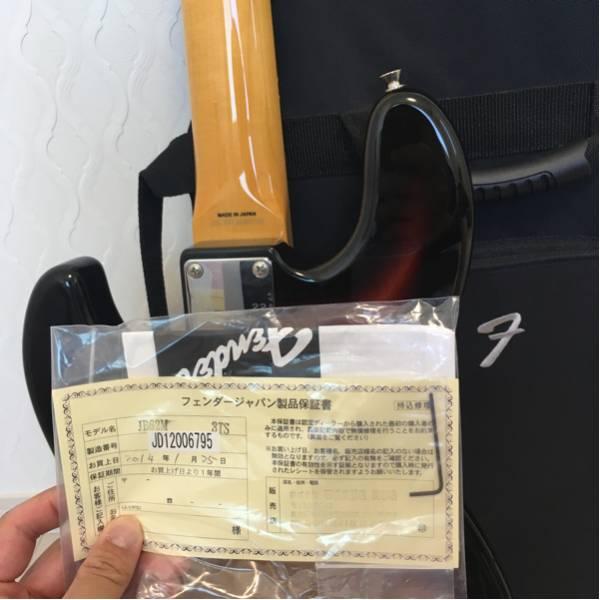送料無料 fender japan JB62M 3TS
