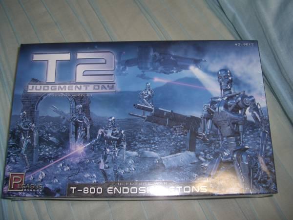 1/35 T2 T-800 エンドスケルトン ターミネーター 5体_画像1