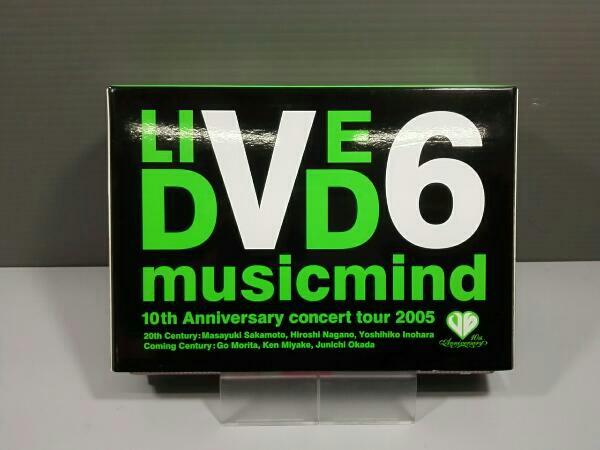 "V6 10th Anniversary CONCERT TOUR 2005 ""musicmind限定版Bタイプ コンサートグッズの画像"