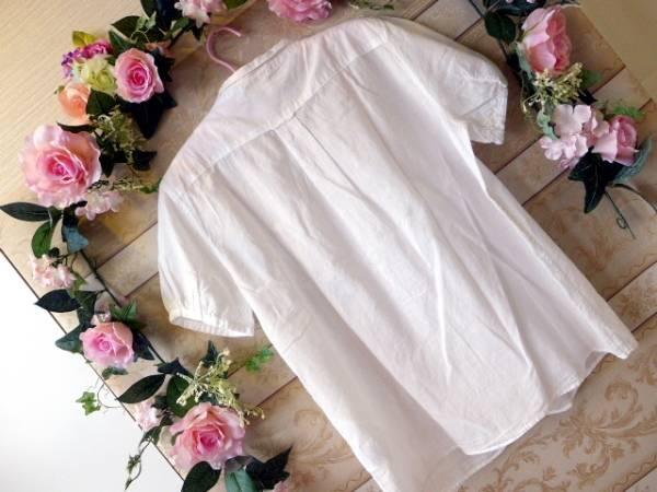 ☆美品☆niko and.... ニコアンド 半袖ブラウス 白色 サイズ3_画像2