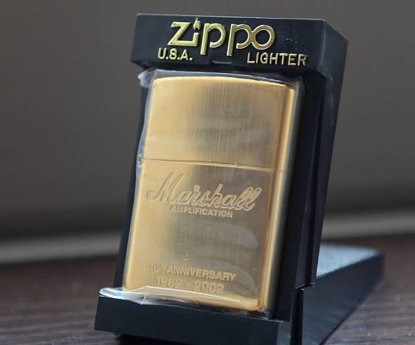 激レア! Marshall マーシャル・アンプ ZIPPO! 非売品・新品