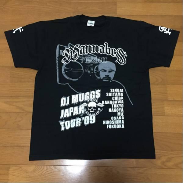 dj muggs japan tour 09 レア Tシャツ サイプレスヒル ソウルアサシンズ サイコラーム lowrider hip hop